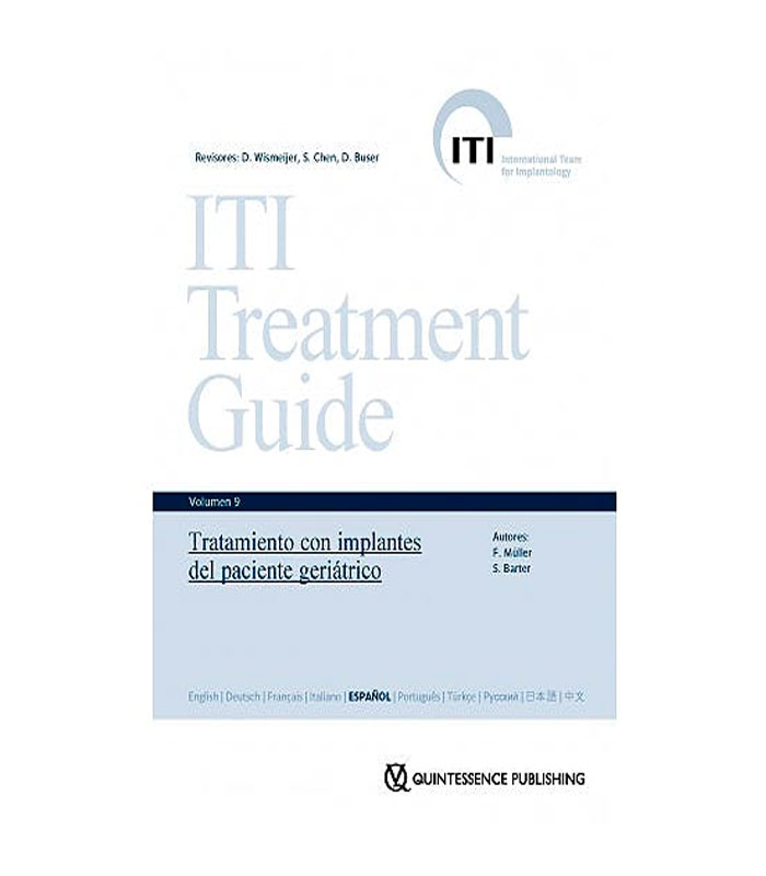 Librod de ITI Treatment Guide Vol.9 - Tratamiento con Implantes del Paciente Geriátrico