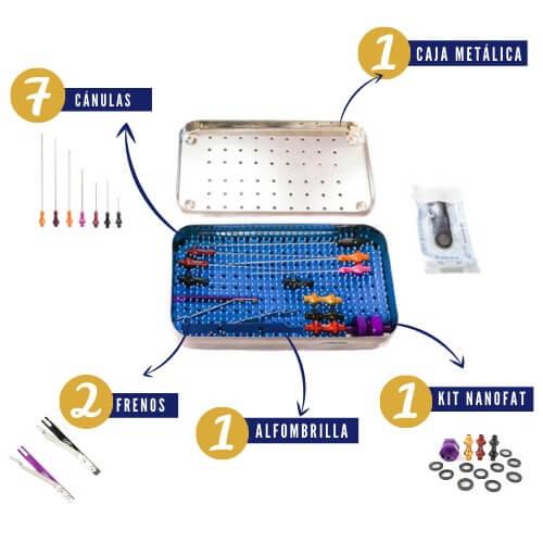 Caja de lipofilling - Equinoxial Médica